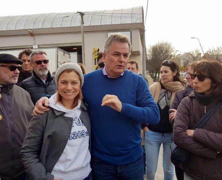 Timbreo y charla con vecinos de Bahía Blanca
